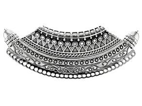 Sterling Silver Tribal Pendant