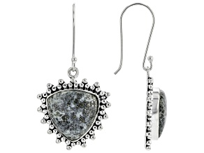 Artisan Collection Of India™ Pyrite In Chalcedony Sterling Silver Earrings