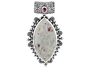 Artisan Collection Of India™ Rosalinda And Tourmaline Sterling Silver Pendant