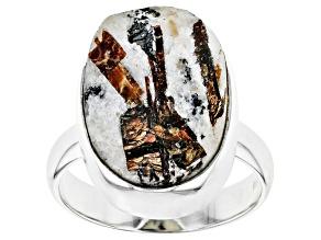Astrophyllite Sterling Silver Ring