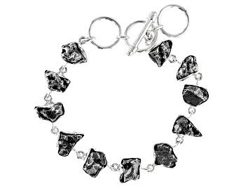 Picture of Meteorite Nugget Sterling Silver Bracelet