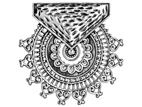Sterling Silver Pendant/Slide