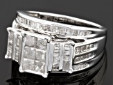 Diamond Sterling Silver Ring 1.60ctw