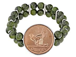 Green Connemara Marble Bracelet