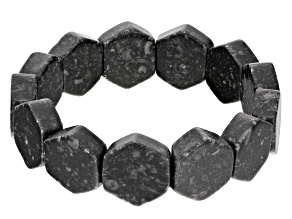Black Kilkenny Marble Stretch Bracelet