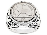 Sterling Silver Coin Ring