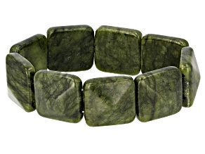 Connemara Marble Station Stretch Bracelet