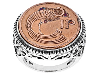 Picture of Lucky Irish Penny Sterling Silver Ring