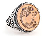 Lucky Irish Penny Sterling Silver Ring
