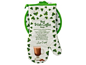 Irish Coffee Oven Mitt/Pot Holder