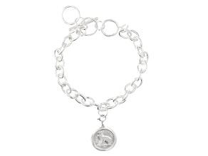 Thrupenny Coin Base Metal Bracelet