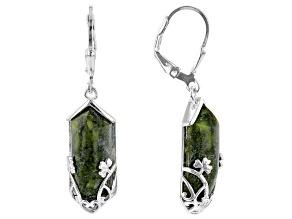 Connemara Marble Sterling Silver Earrings