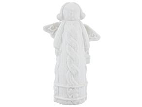 Ceramic Guardian Angel Statue