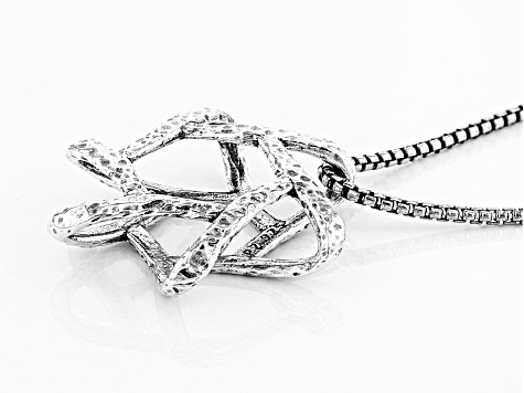 Sterling Silver Star Of David Pendant With Chain
