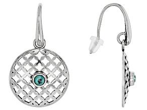 Green Eilat Sterling Silver Earrings