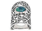 Green Eilat Silver Ring