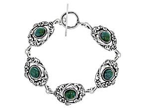 Green Eilat Silver Bracelet