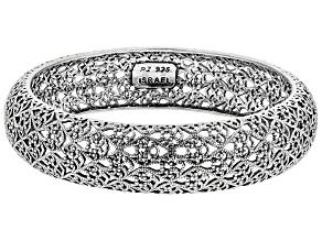 Sterling Silver Filigree Bangle Bracelet