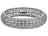 Sterling Silver Filigree Bangle Bracelet