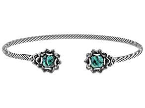 Green Eilat Sterling Silver Bracelet