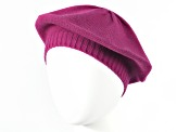 Purple Plumberry 100% Cashmere Beret
