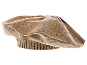 Heather Copper 100% Cashmere Beret
