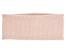 Shell Pink Honeycomb Stitched 100% Cashmere Headband