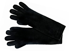 "Black 13"" Ladies 100% Cashmere 2ply Glove"