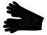 "Black 13"" Ladies 100% Cashmere 2ply Glove"