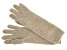 """Nile Brown 13"""" Ladies 100% Cashmere 2ply Glove"""