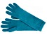 """Teal 13"""" Ladies 100% Cashmere 2ply Glove"""