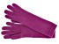 """Berry Pink 13"""" Ladies 100% Cashmere 2ply Glove"""