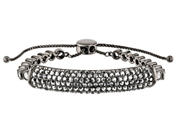Picture of Gunmetal Tone with  Black and White Bolo Bracelet
