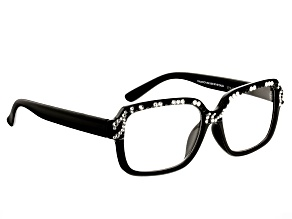 Swarovski Elements ™ Crystal Zebra Frame Reading Glasses 1.50 Strength