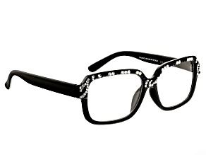Crystal Zebra Frame Reading Glasses 1.50 Strength