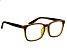 Swarovski Elements™ Crystal, Brown Frame Reading Glasses 1.50 Strength