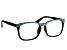 Swarovski Elements™ Crystal Black Frame Reading Glasses 2.00 Strength