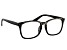 Swarovski Elements™Crystal Black Frame Reading Glasses 2.50 Strength