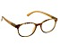 2.00 Strength Copper Yellow  Frame with Swarovski Elements™  Crystal Reading Glasses
