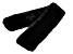 """Black Faux Fur 100% Polyester  5"""" x 36"""" Scarf"""
