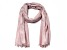 Dusty Rose Pashmina Wrap with Fringe