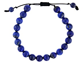 Blue Lapis Lazuli Strand Bracelet