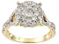 Diamond 10k Yellow Gold Ring .90ctw