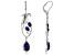 Blue Lapis Sterling Silver Earrings.