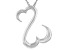 Rhodium Over Sterling Silver Pendant With Chain