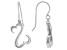 Rhodium Over Sterling Silver Dangle Earrings