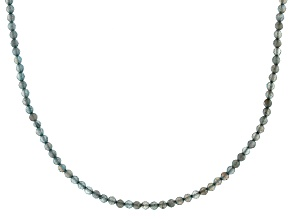 Gray Labradorite Endless Strand Necklace