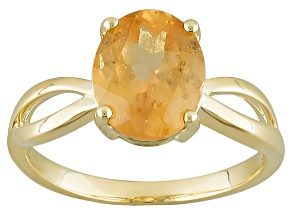 Orange Imperial Hessonite® Garnet Ring 2.50ct