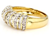 Diamond 10k Yellow Gold Ring 1.00ctw