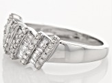 Diamond 10k White Gold Ring .60ctw